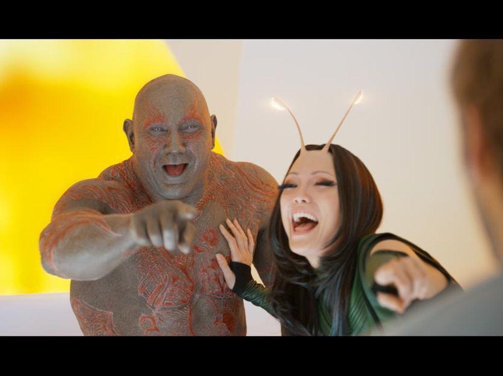 Dave Bautista Kere Sebelum Gabung Marvel