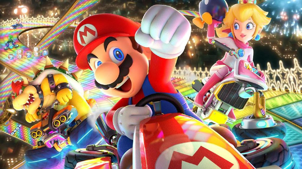 Fitur Auto-Accelerate Mario Kart 8 Deluxe Raup Pujian dari Gamer