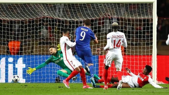Monaco vs Juventus di leg pertama (Foto: Michael Steele/Getty Images)