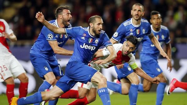 Rekor Buruk Monaco vs Superioritas Juventus di Italia