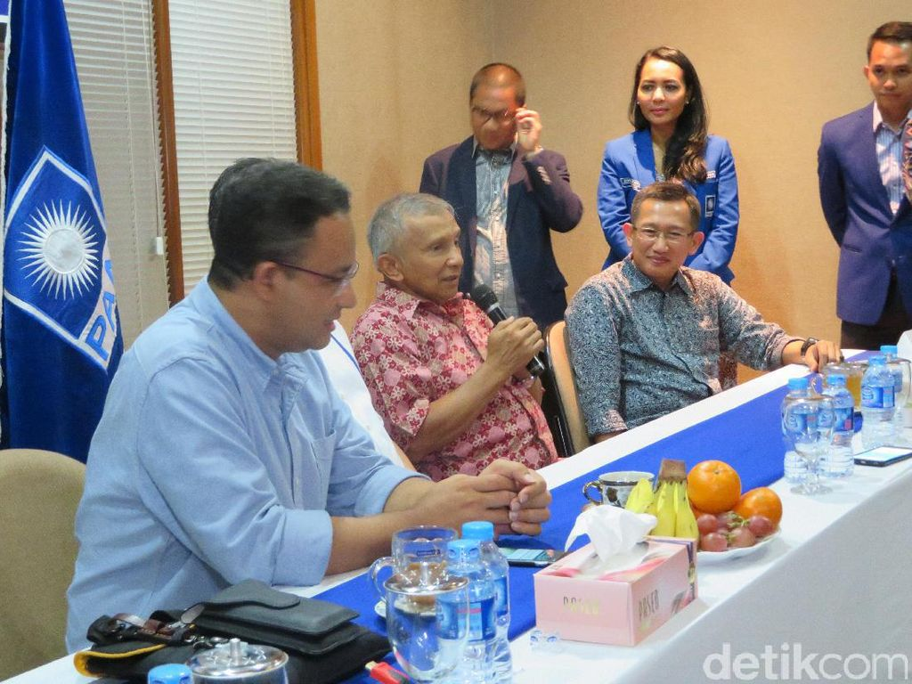 Amien Rais dan Anies Masuk Survei Cawapres Prabowo