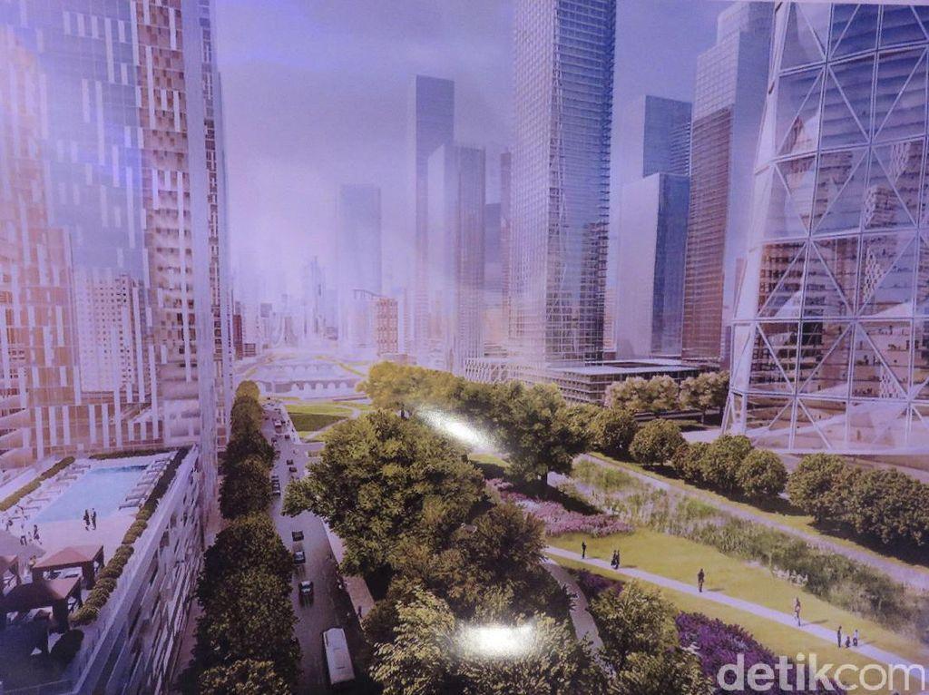 Kota Baru Meikarta Dilewati LRT dan Kereta Cepat