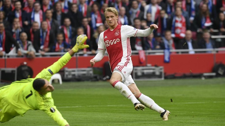 Perkenalkan Kasper Dolberg, Wonderkid Ajax