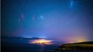 Hujan Meteor, Kilat, Aurora: Kejadian Langka di Langit Australia