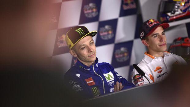 Hubungan Marc Marquez dan Valentino Rossi kembali memanas usai balapan MotoGP Argentina.