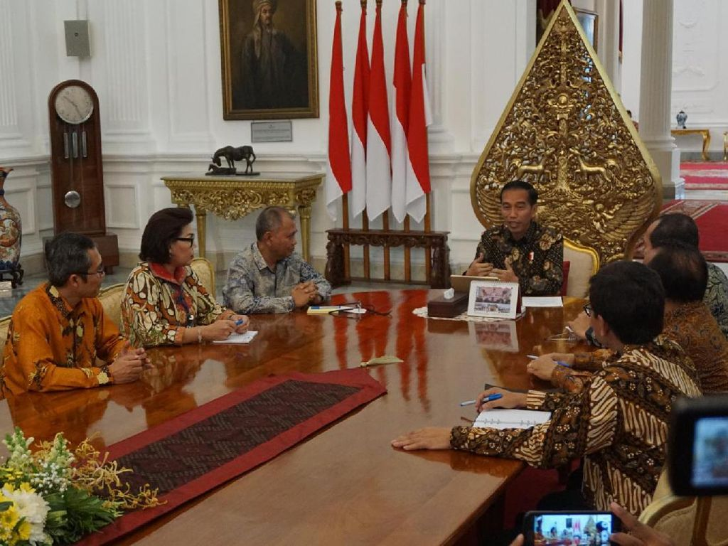 Jokowi: Kalau KPK Lemah, Kita Semua yang Rugi