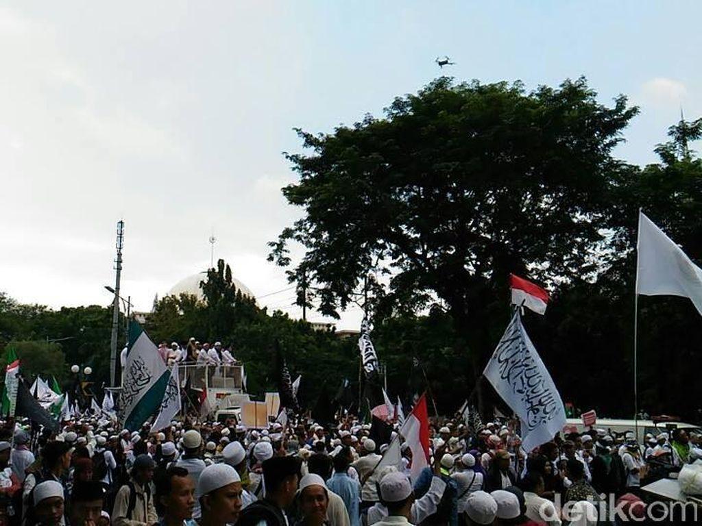 Usai Orasi di MA, Massa Aksi 55 Kembali ke Masjid Istiqlal