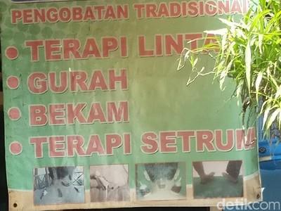 Potret Terapi Setrum di Tengah Masyarakat