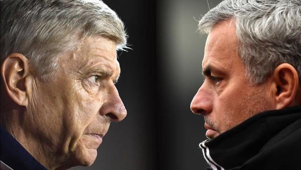 Mourinho Tak Punya Masalah dengan Wenger, Tak Perlu Berdamai