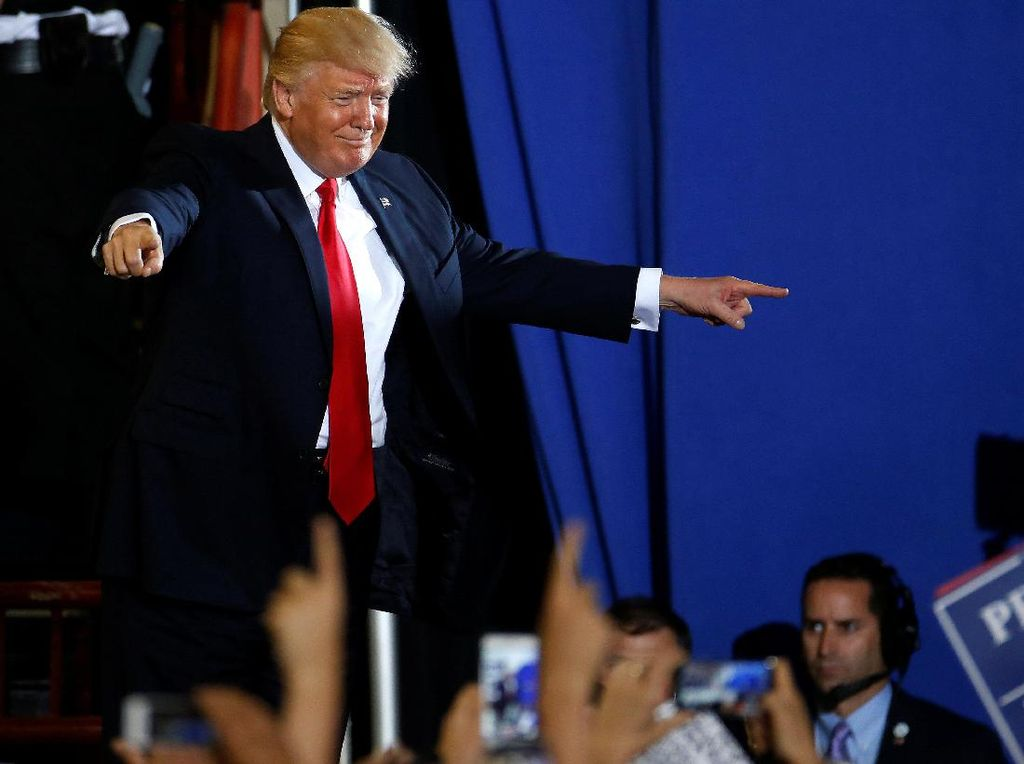 Investor Mulai Ragukan Trump Karena Sering Obral Janji