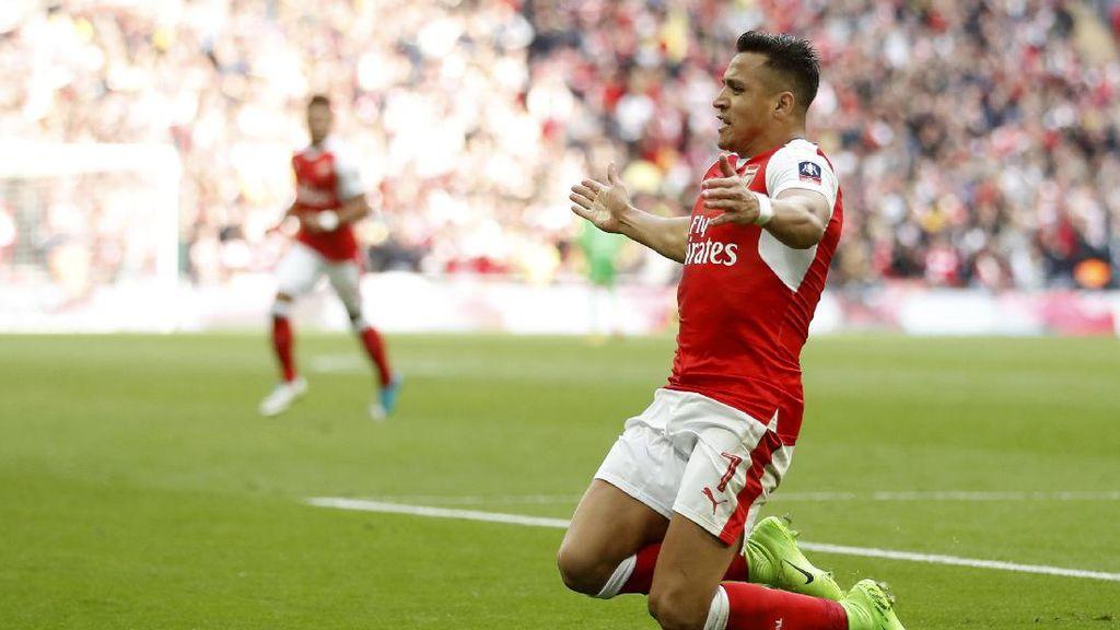 Arsenal Mengancam Chelsea Lewat Aksi Alexis Sanchez