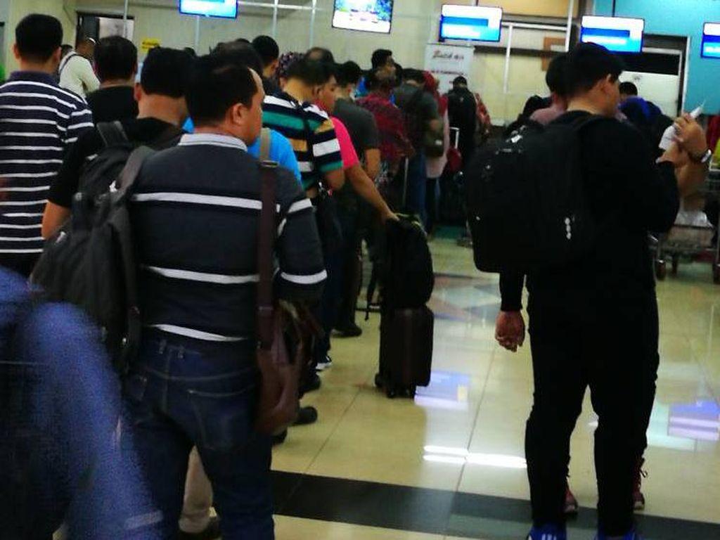 Antrean Penumpang Crowded, Ini Penjelasan Pengelola Bandara Halim