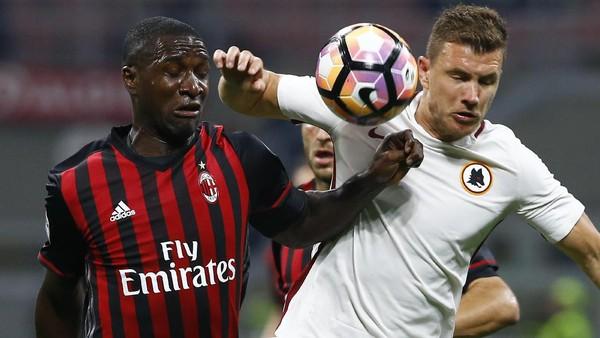 Ketika Milan yang Sedang Rapuh Dihadapkan Dzeko yang Tengah Buas
