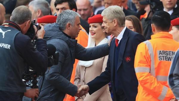Akhirnya Wenger Bisa Kalahkan Mourinho