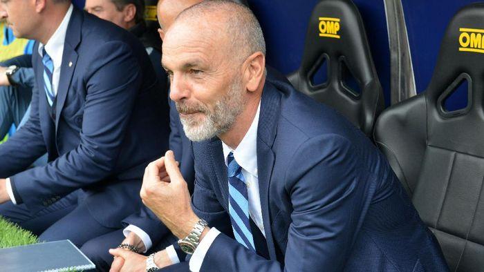 Stefano Pioli sudah ditolak oleh fans AC Mlian meski belum resmi diangkat (Getty Images/Paolo Rattini)