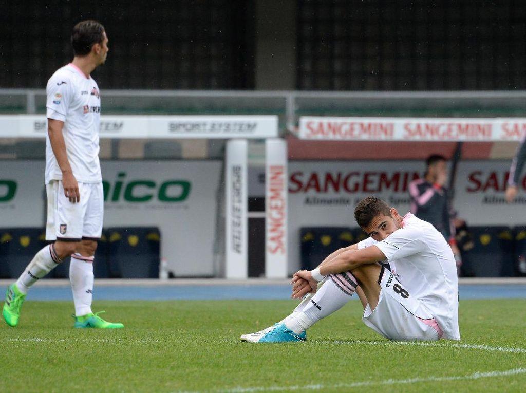 Palermo Jadi Tim Kedua yang Terdegradasi dari Serie A