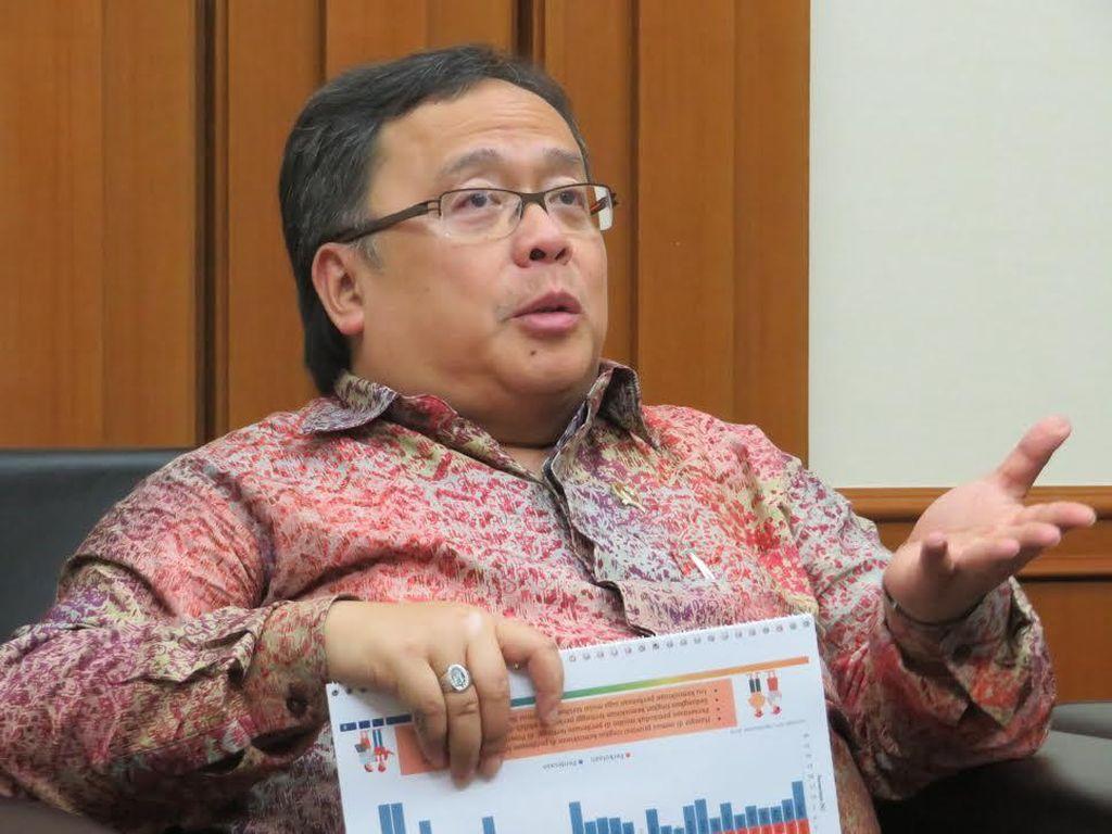 Kepala Bappenas Paparkan Jurus Atasi Ketimpangan di Indonesia