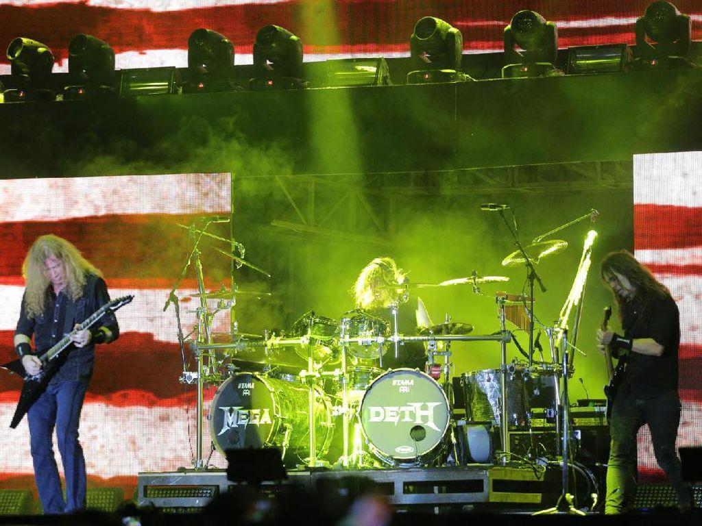 Megadeth Full Team untuk Manggung di Yogyakarta