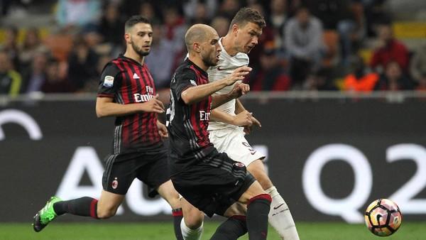 Roma Libas Milan 4-1 dan Kembali ke Posisi Dua