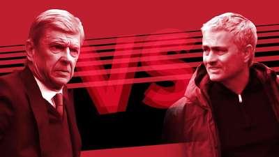 Akhirnya.... Wenger Kalahkan Mourinho!