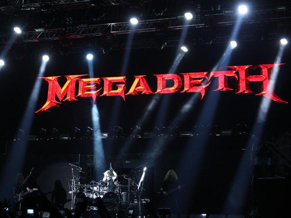 Hore! Megadeth Umumkan Manggung Lagi Tahun Ini