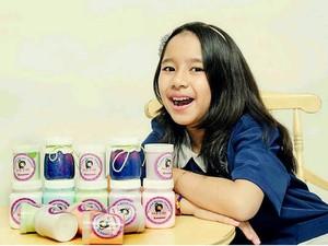 Bisnis Slime, Siswi SD Ini Kantongi Omzet Rp 50 Juta/Bulan