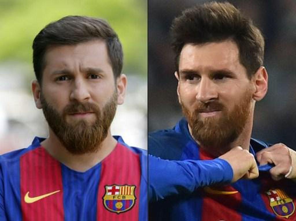 'Kembaran' Para Pesepakbola: Dari Casillas, Benzema, Sampai Messi