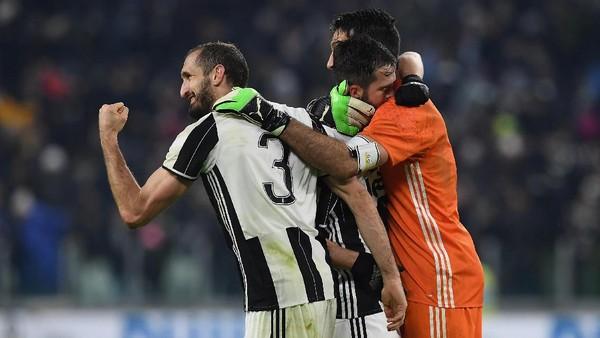 Solidnya Pertahanan Juventus berkat Kerja Keras Semua Pemain