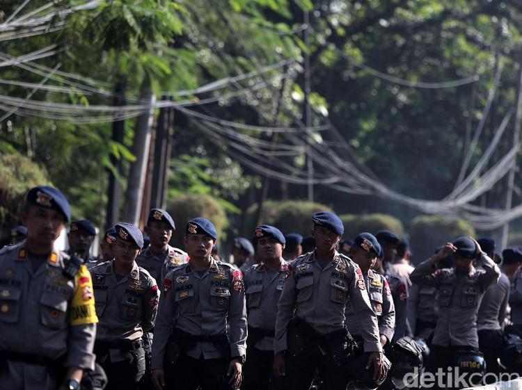 1.000 Polisi Disiapkan Amankan Penetapan Capres di KPU