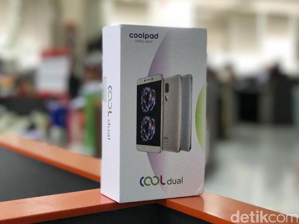 Unboxing Coolpad Cool Dual, Si Kamera Ganda Terjangkau