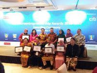Para Pemenang Citi Microentrepreneurship Awards (CMA) 2016-2017