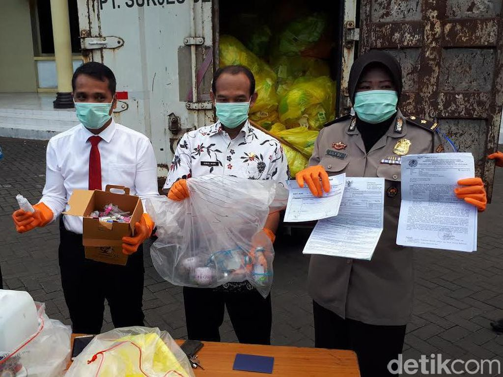 Polisi Ungkap Dugaan Salah Kelola Limbah Medis