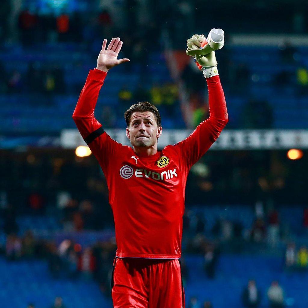 Teken Kontrak Baru, Weidenfeller Bertahan Semusim Lagi di Dortmund