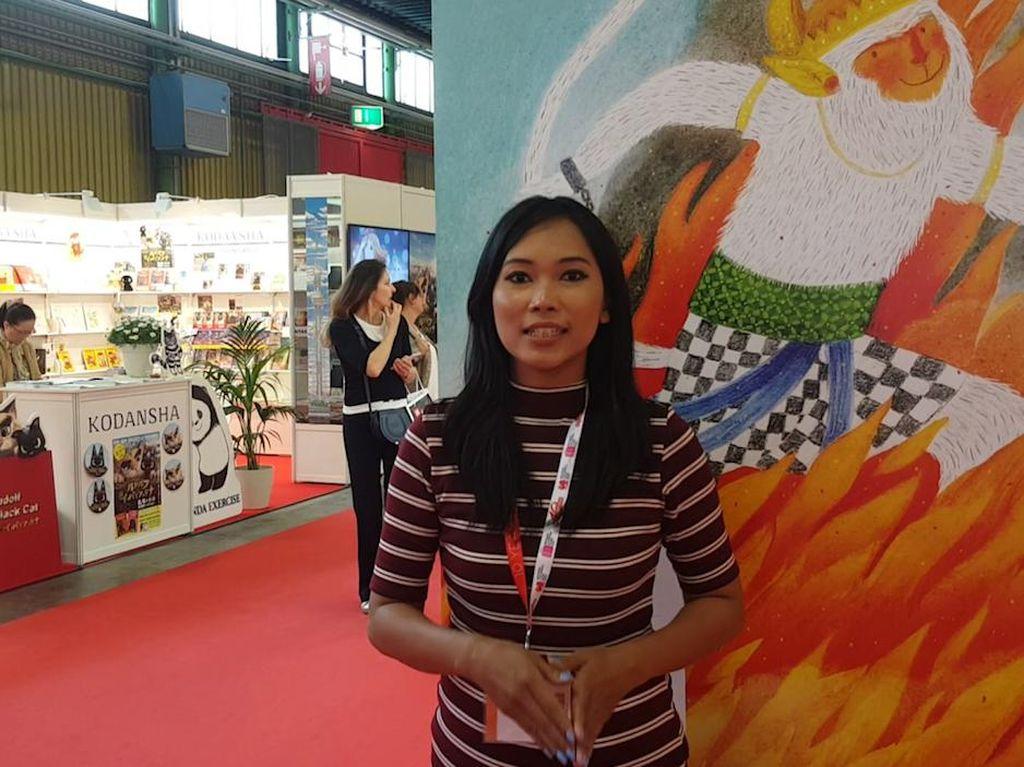 Saya Evelline Andrya, Ilustrator Buku Anak