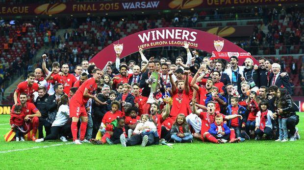 Sevilla menjuarai Liga Europa 2014/2015