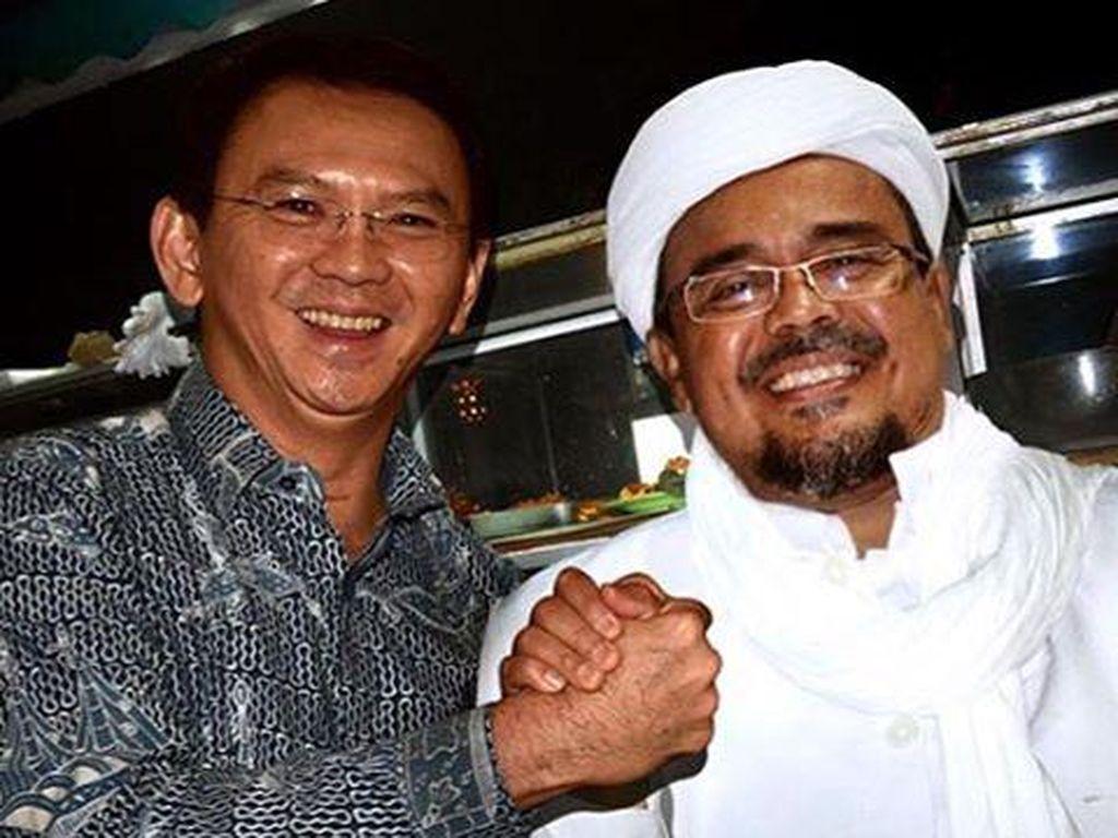 Manipulasi Ahok dan Habib Rizieq Salaman, Foto yang Terviral