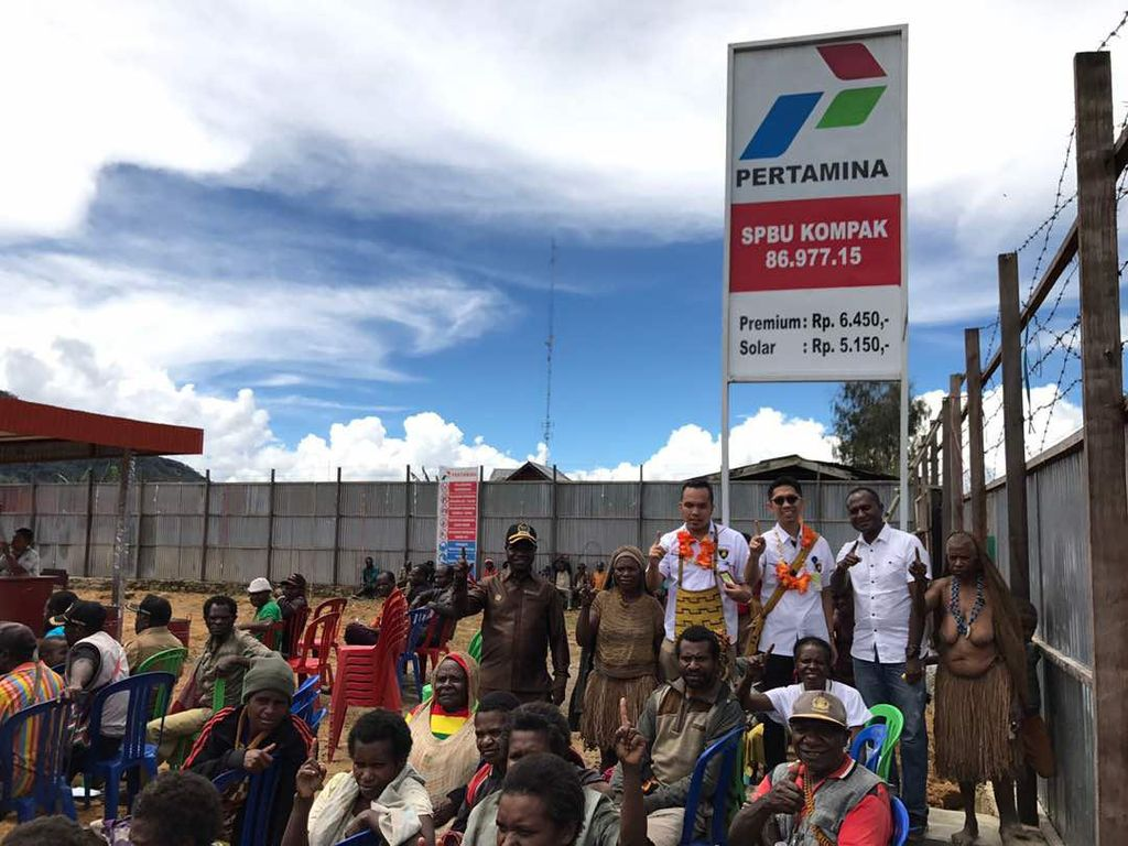Pertamina Catat Lonjakan Konsumsi Pertamax di Papua Barat
