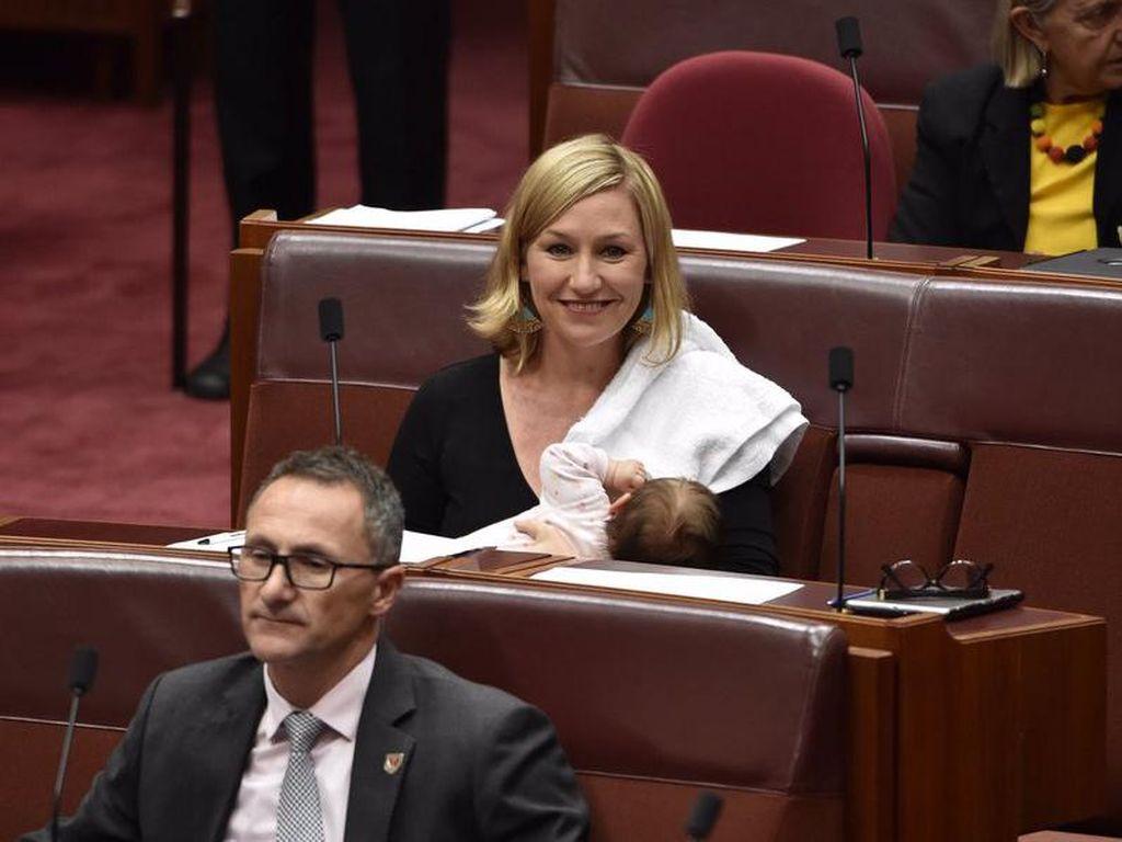 Menyusui di Ruang Parlemen, Politisi Wanita Cetak Sejarah di Australia