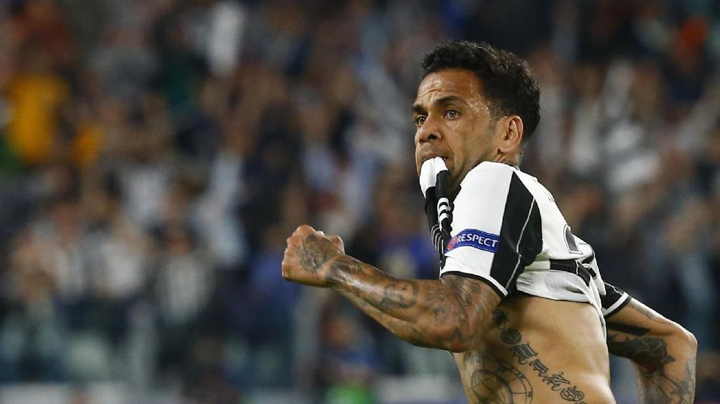 Dani Alves Putus Kontraknya di Juventus