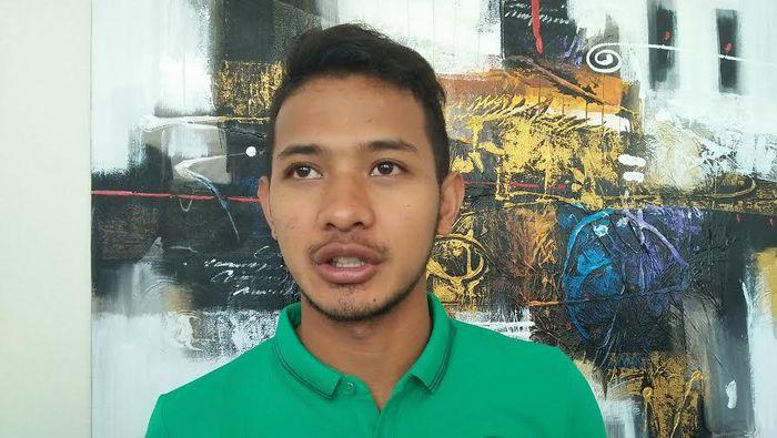 Gian Zola akan tampil di final Piala AFF U-22 bersama Timnas Indonesia. (Foto: detiksport/Amalia Dwi Septi)