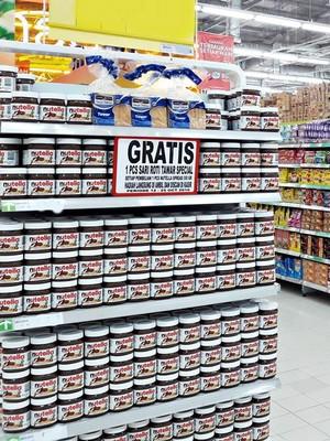 Bugar dengan Promo Susu dan Selai Cokelat di Transmart Carrefour