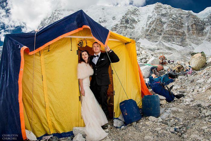 Mereka mulai tiba di Nepal pada Maret lalu. Foto: Charleton Churchill