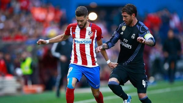 Madrid Lagi-Lagi Jadi Mimpi Buruk untuk Atletico