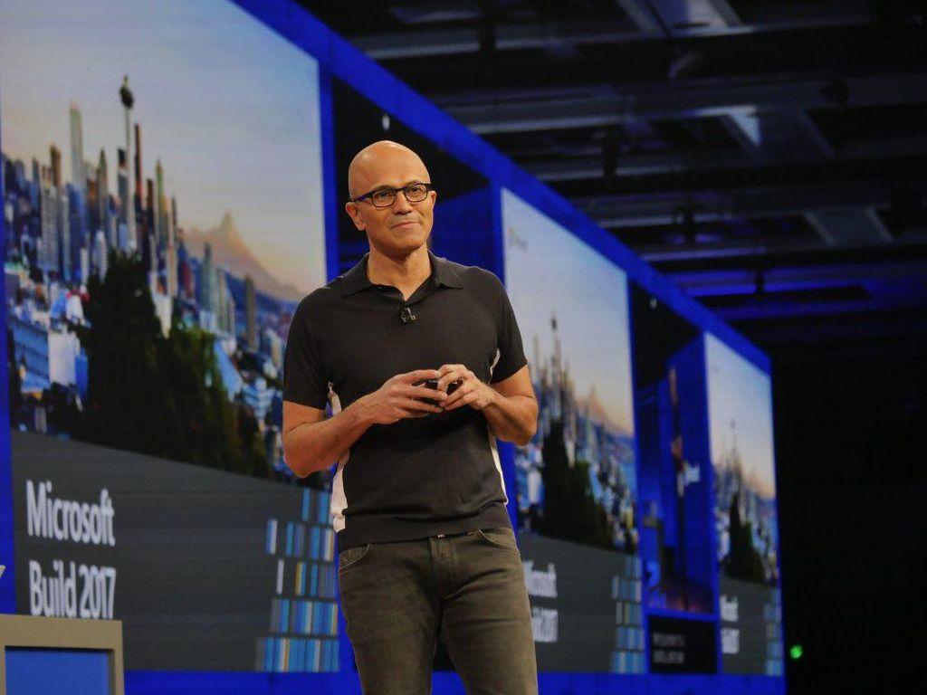 CEO Microsoft Puji Respons Teknologi Terhadap Virus Corona