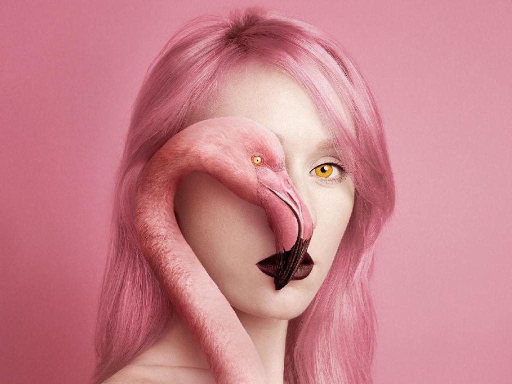 Potret Menakjubkan Wanita yang Mengganti Sebelah Matanya dengan Hewan