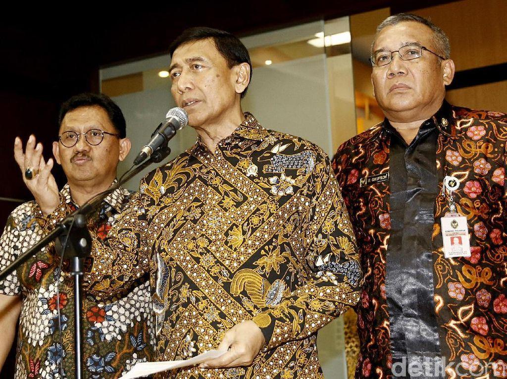 Wiranto Beri Penjelasan Soal HTI