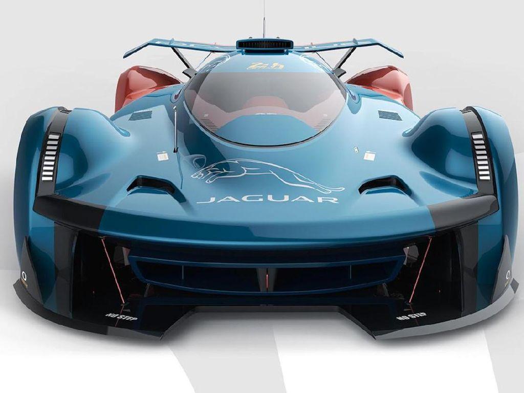 Mobil Balap Masa Depan Jaguar