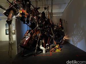 Robot Sampah ala Komunitas Invalid Urban Bandung