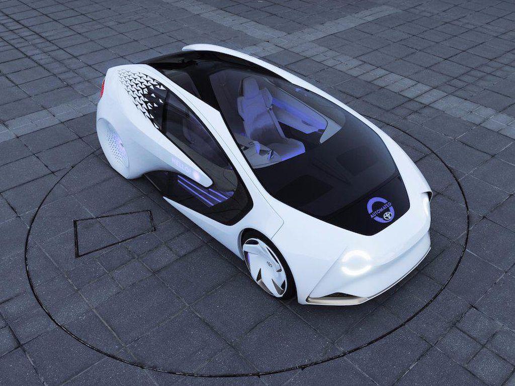 Mobil Otonom Toyota Pakai Otak Nvidia