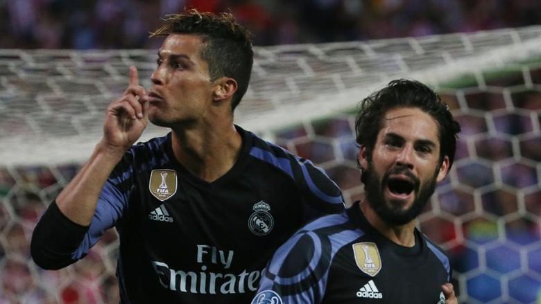 Ronaldo: Peluang Madrid-Juventus 50-50